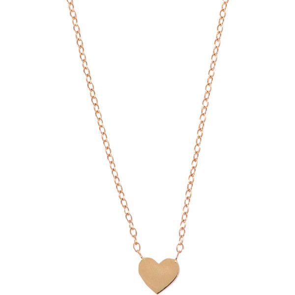 Chibcha Little Heart Necklace ($276) ❤ liked on Polyvore featuring jewelry, necklaces, gold, heart jewellery, gold heart shaped necklace, yellow gold necklace, gold necklace and gold jewellery