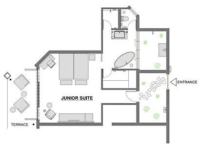 Junior suite's room