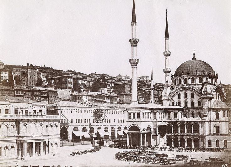 Tophane Nusretiye Mosque was built by (Armenian Architects, Balyan Family) Kirkor BALYAN, in Baroque-style for Sultan II. Mahmut, between 1823- 1826, in Istanbul.