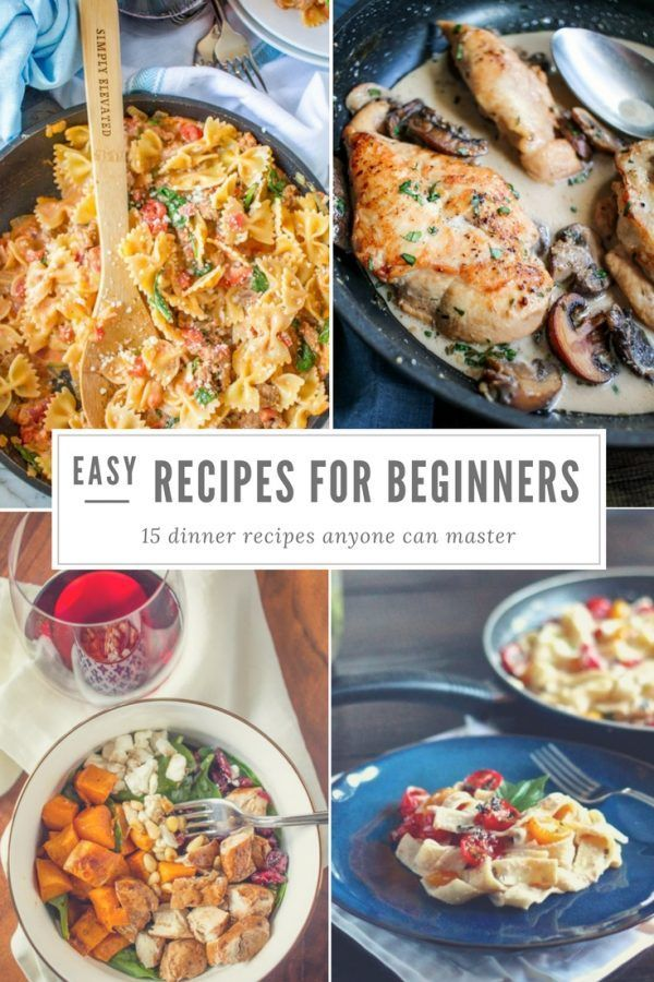 Easy Recipes For Beginners Thekittchen Beginners Recipes