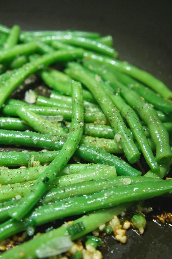 Asian green beans recipes - yum!