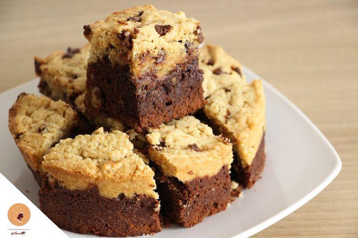 Pourquoi n'ai-je pas préparé cette recette plus tôt!? J'ai vraiment l'impression d'être passée à côté de quelque chose. Quelqu'un a eu la merveilleuse idée de mélanger deux de mes gourmandises sucrées préférées: Le brownie et le cookie. Force à toi, «personne» qui a eu cette merveilleuse idée! Aujourd'hui j'ai donc décidé de vous présenter ma …