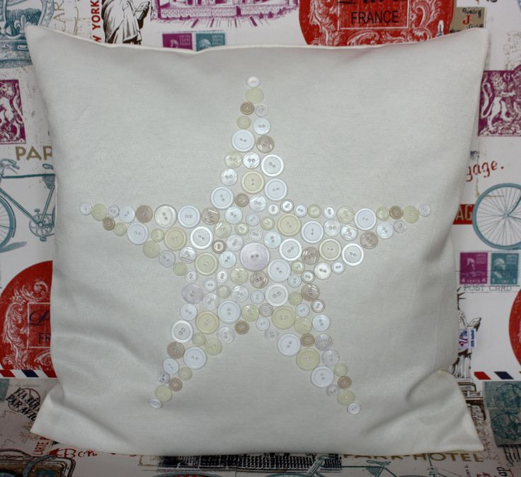 Handmade home decoration product - star pillow