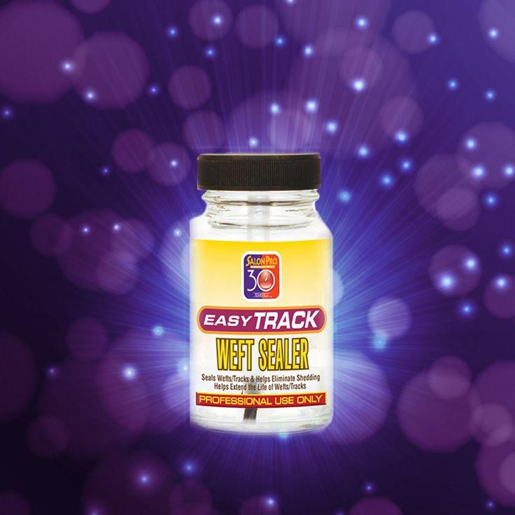 Salon Pro 30 Sec Easy Track Weft Sealer (Clear) (1/2 oz)
