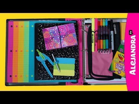 Back to School Organizing Tips: Binder & School Notebook Organization - YouTube