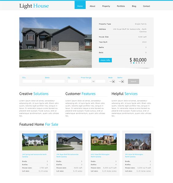 This real estate WordPress theme offers a minimal design, 9 sidebar positions, easy color customization, property and testimonials post types, a property search feature, auto image resizing, jQuery PrettyPhoto, and more.