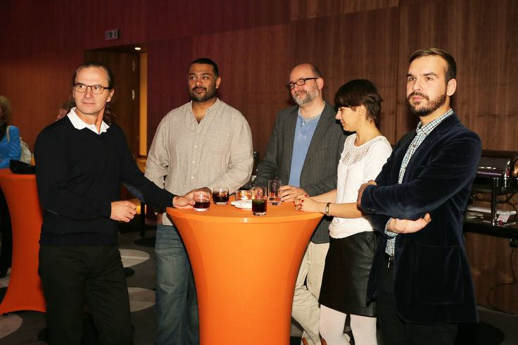 Filmteractive Networking Meeting; from the left - Adipat Virdi (Transmediasphere, UK), Arne Sommer (Head of Filmworkshop, Germany), Dagmar Mae (Estonia), Andre Rotshchild (Denmark)