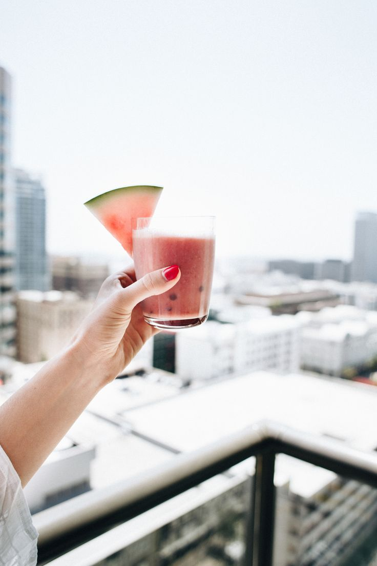This Watermelon Smoothie Will Make Your Summer Unforgettable — Bloglovin'—the Edit