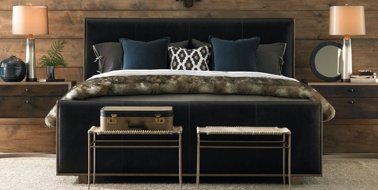 The Manhattan Leather Bed Frame