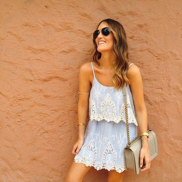 Fresh, Feminine & Delicate... & we're ready for ☀️S U M M E R ☀️ con @azuluoficial Porque llegaron los días de cielos despejados, las altas temperaturas, el calor y color de la temporada más colorida, se acercan las vacaciones y nosotras estamos listas para los mejores días del año con #AZULU #AZULUBySS #SSWearsAZULU www.sisterlystyle.com #sisterlystyle #styleblog #styleblogger #chanel #chanelboy #fashionblog #fashionblogger ❤️A&E