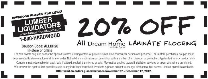 Lumber liquidators coupons discount code