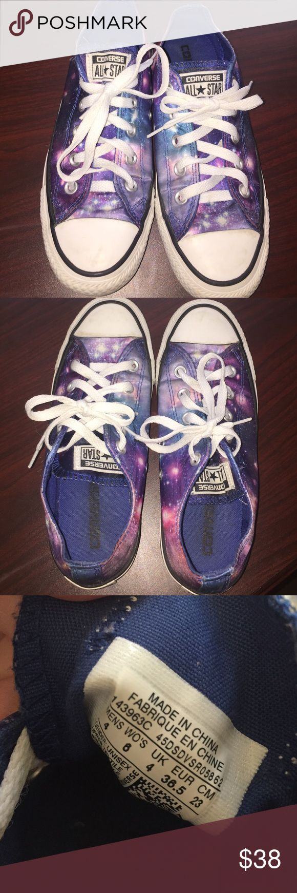 Galaxy converse Galaxy pattern converse Converse Shoes Sneakers