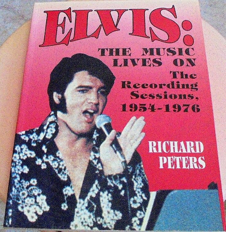 ELVIS PRESLEY - THE MUSIC LIVES ON - THE RECORDING SESSIONS 1954-1976 (RICHARD P