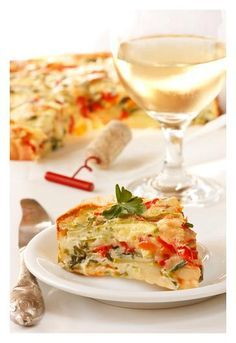 Cheeseless Vegetarian Quiche | Stay at Home Mum #SAHM #food
