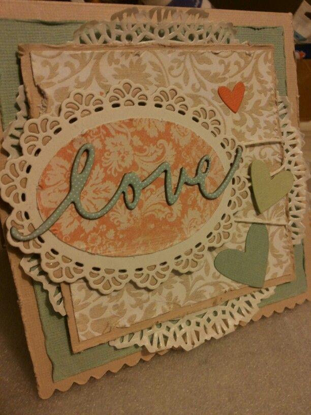 Shabby card per matrimonio by ricciocraft