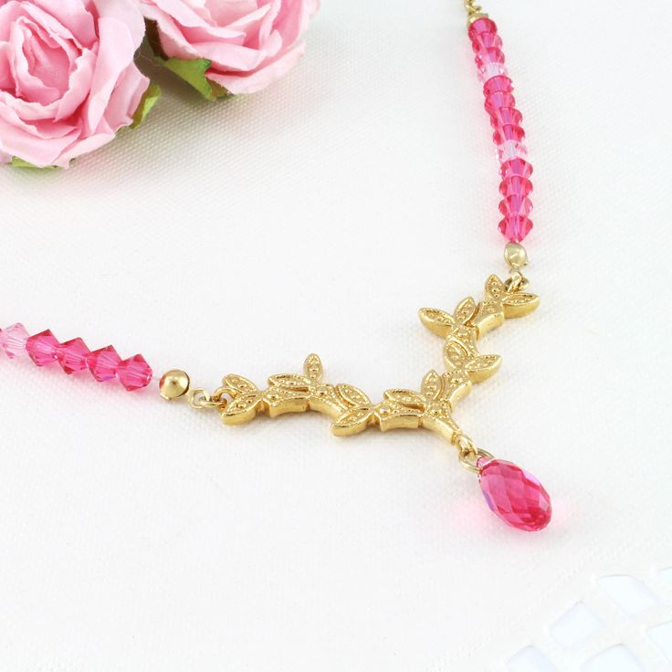 Excited to share the latest addition to my #etsy shop: Pink statement necklace, Pink lover, Pink gift for woman, Pink gift ideas, Pink necklace, Pretty in pink, Pink outfits http://etsy.me/2B70sb8 #jewelry #necklace #pink #pinklover #pinkgift