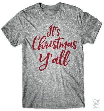 It's Christmas Y'all Get Halloween, Thanksgiving and Christmas tshirts at 20% discount price. Shop Now!