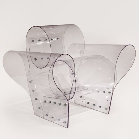 Ron Arad's polycarbonate Well Chair at PAD Paris 2012