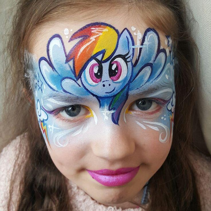 Les 773 meilleures images du tableau maquillage sur pinterest peintures de visage maquillage - Peinture sur visage ...