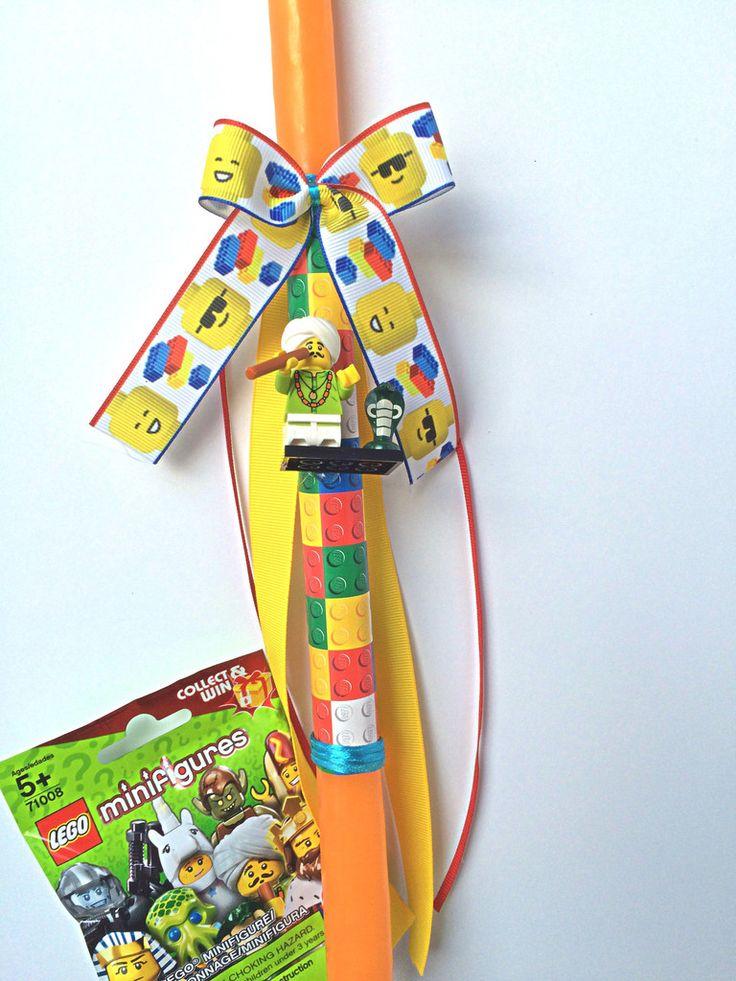 Lego Easter candles Greek Easter lambada
