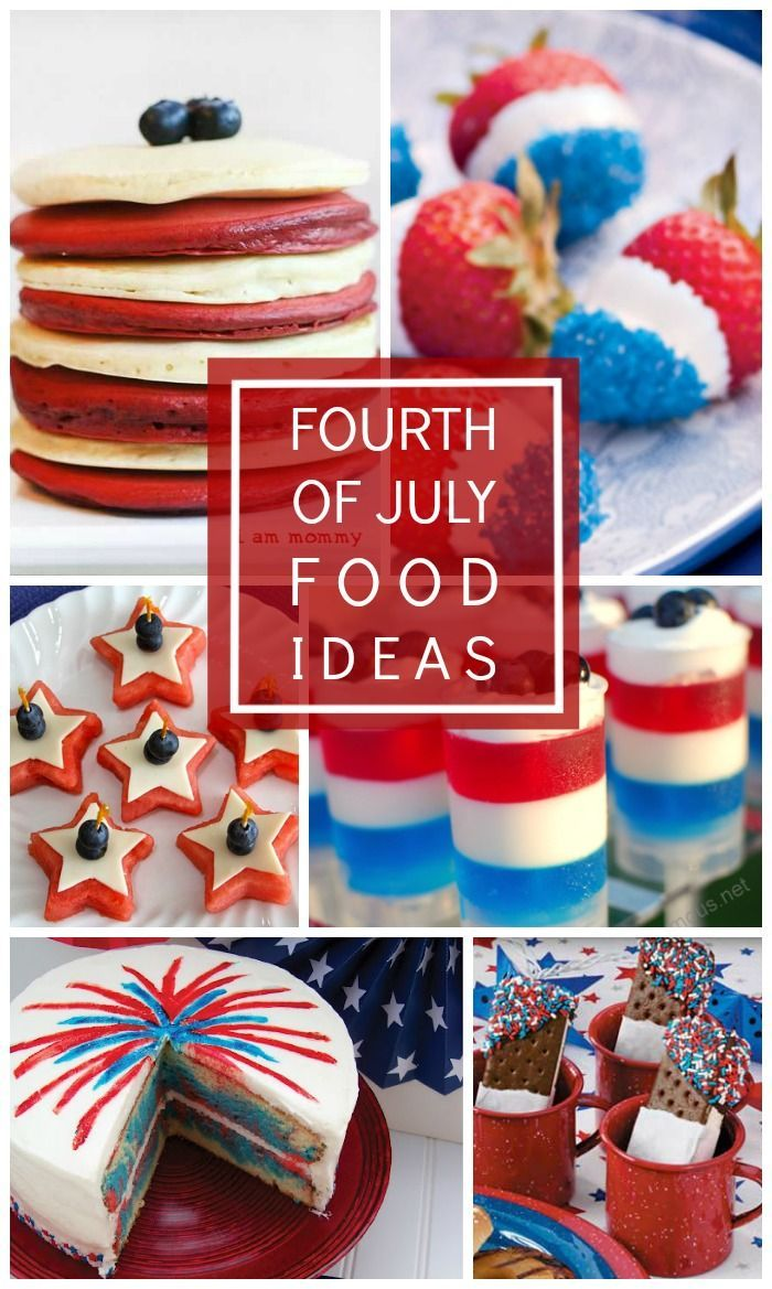 63 best patriotic parties images on pinterest july 4th for Fourth of july party dessert ideas