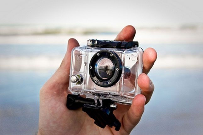 Dad can capture his most thrilling victories with the latest GoPro camera.