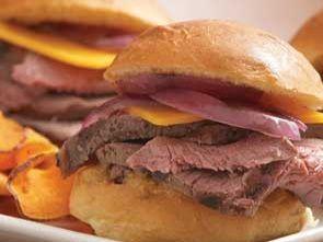 Мини-сэндвичи с Сирлоин стейком