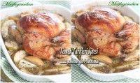 Fırında Elmalı Tavuk Tarifi