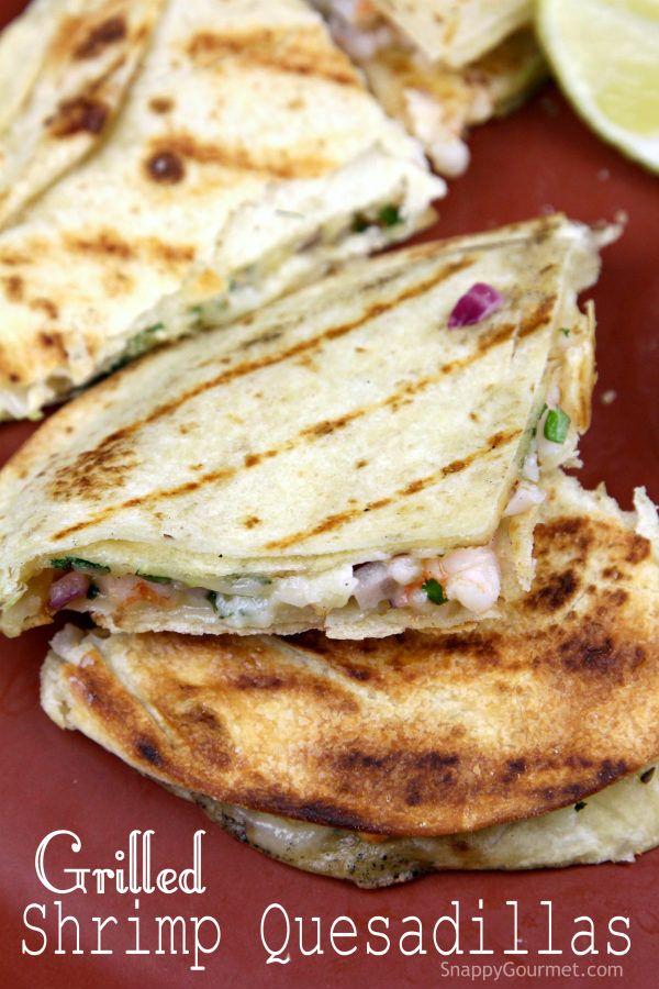 ... Shrimp Quesadilla on Pinterest | Quesadilla Recipes, Quesadillas and