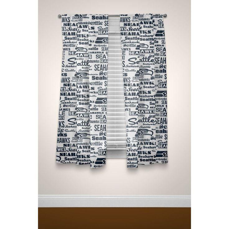 The Northwest Company NFL Seahawks Curtain Panel Pair