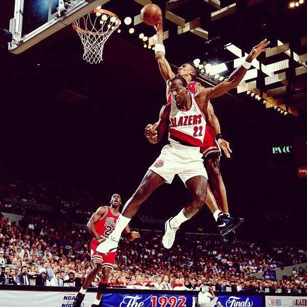 Sorry Clyde, '92 Finals.