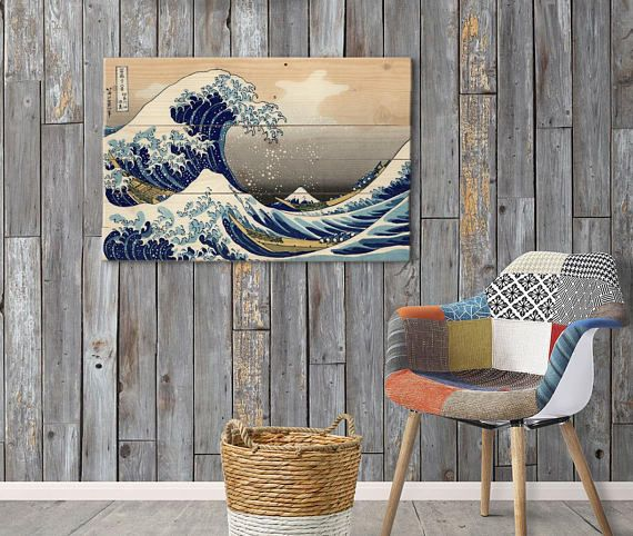 Hey, I found this really awesome Etsy listing at https://www.etsy.com/listing/590226273/vintage-japanese-wall-art-on-solid-wood