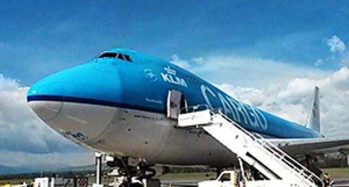 El segundo avión de carga más grande del mundo opera desde Ecuador