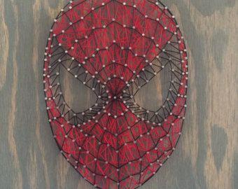 Spider-man String Art