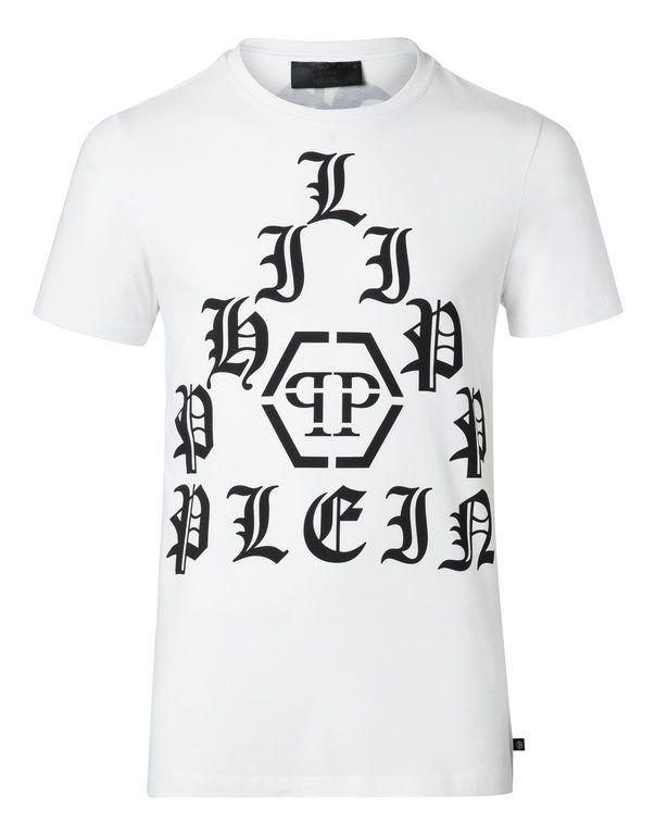"""PHILIPP PLEIN T-Shirt Round Neck Ss """"Kami"""". #philippplein #cloth #"""
