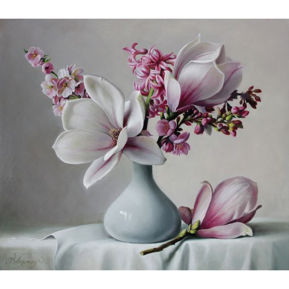 78 best images about floral swag on pinterest floral Painting arrangements on wall