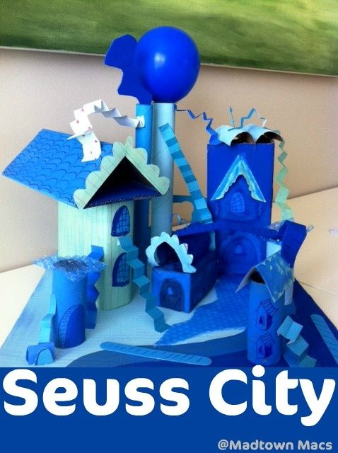 dr seuss art projects | Craft and Art Ideas and Activities for Kids / Build a Dr. Seuss City