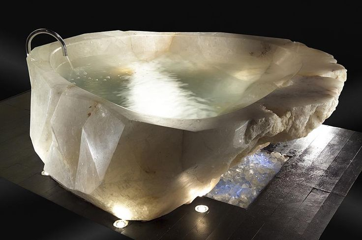 I am one of those people who will be watching a movie and suddenly be struck with tub envy. Even in film though, I've never seen such a uniquely beautiful bathtub.