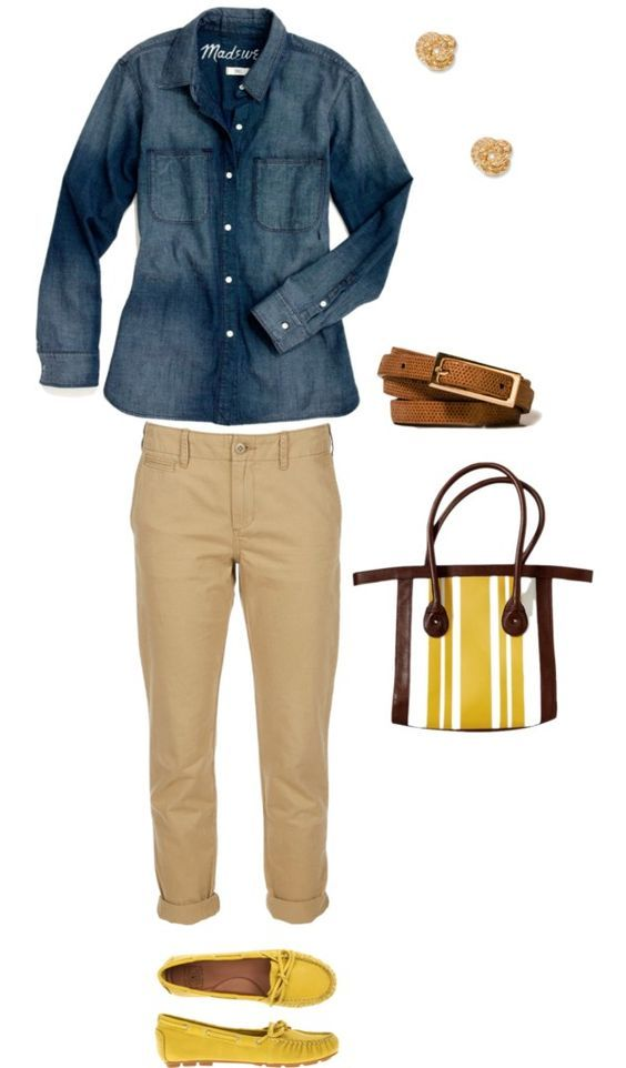 """""""A Casual Outfit Idea for Women Over 50 and 60"""" by kimkperez on Polyvore"""