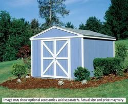 Handy Home Somerset 10' x 8' Storage Building with Floor