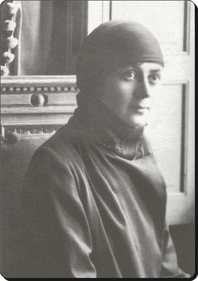 Sultan Vahdettin'in son eşi Nimet Nevzad Hanımefendi. 1924 yılında İtalya / San Remo'ya eşinin yanına gittiği zaman.