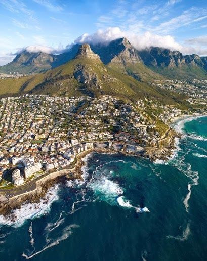 Cape Town, South Africa.   South Africa's Romantic and Beautiful Getaway - Cape Town  http://owegoo.com/destination/cape-town/