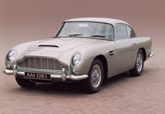 Old school Classy James Bond style Aston Martin DB5, 1963