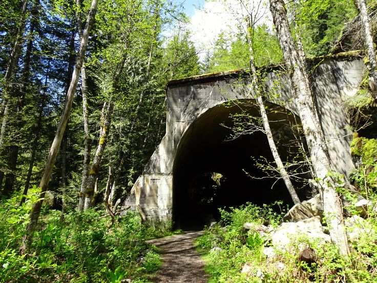 Looking to explore some railroad history? Whether you are looking for an easy walk for all abilities or moderately challenging hike, the Iron Goat Trail delivers. With flowers, bridges, waterfalls, tunnels, snowsheds, interpretive signs, and mysterious random artifacts, there is plenty to entertain kids and adults alike!  .  .  . #toddlertrekking #stevenspass #irongoat #railroads #history #Washingtonstatehikes