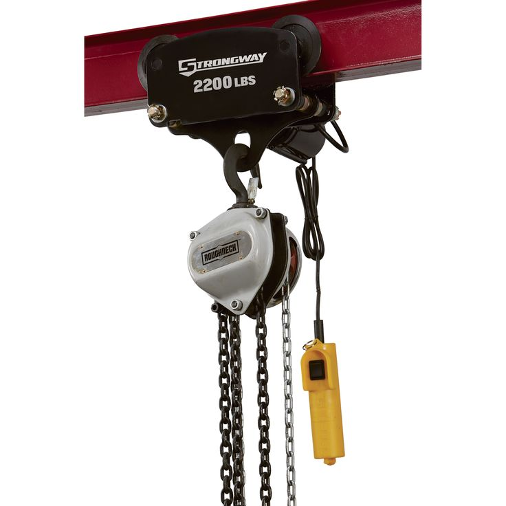 Harbor Freight Gantry Crane >> Strongway Electric Trolley — 2,200-Lb. Capacity | Electronic Trollies Accessories| Northern Tool ...