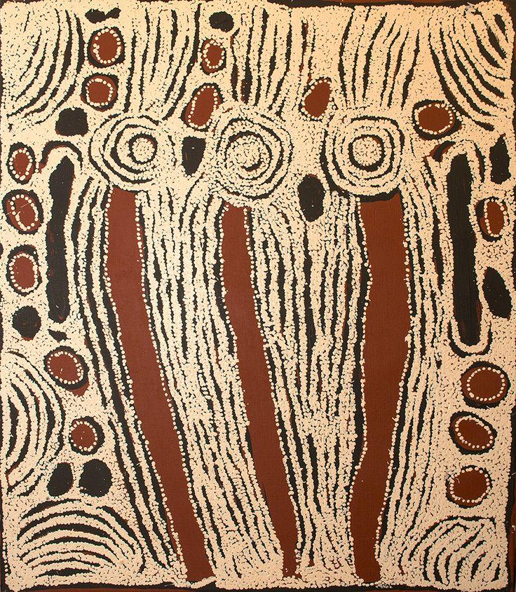 Ningura Napurrula - Women ceremonies http://www.aboriginalsignature.com/art-aborigene-papunya-tula/ningura-napurrula-art-aborigene-nnn1209046