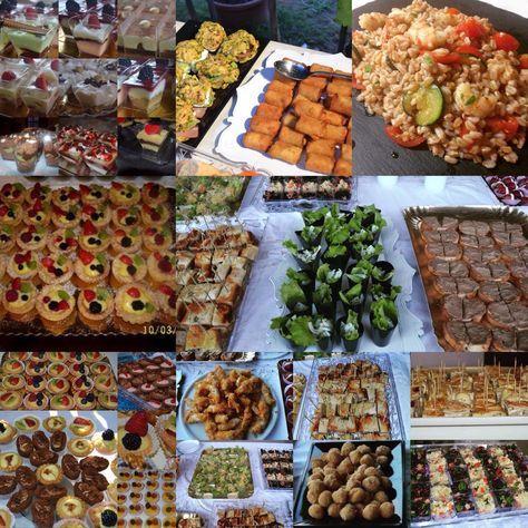 Tutto ciò che serve per l'organizzazione dei buffet e ricette varie