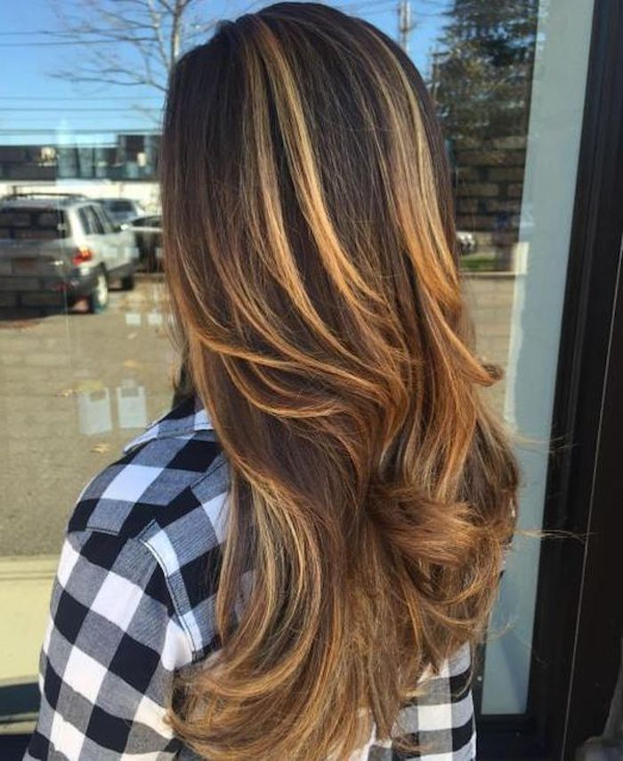 1001 + Ideas for Brown Hair With Blonde Highlights or ...