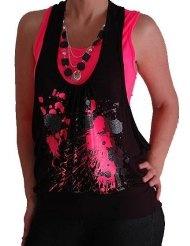 ESPRIT Damen T-Shirt Regular Fit, D21610