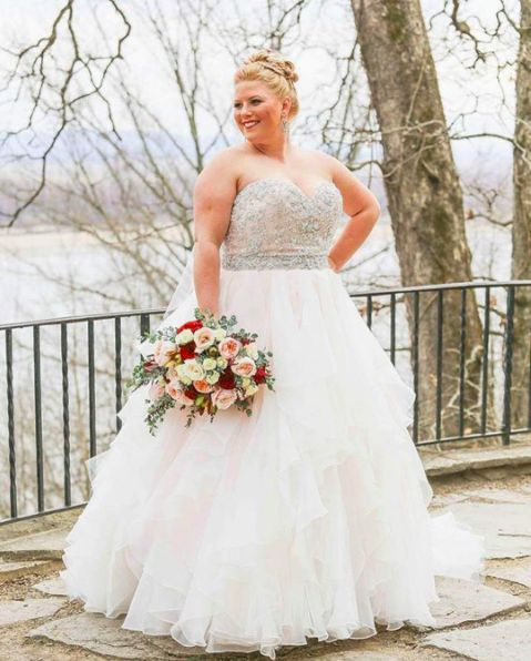 Dazzling Beaded Bodice On Flounced Tulle And Organza Ball: 362 Best BEAUTIFUL MORE TO LOVE PLUS SIZE GORGEOUS